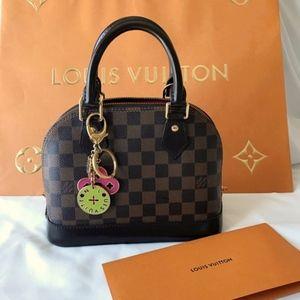 Made in France Louis Vuitton Alma BB Damier Ebene!
